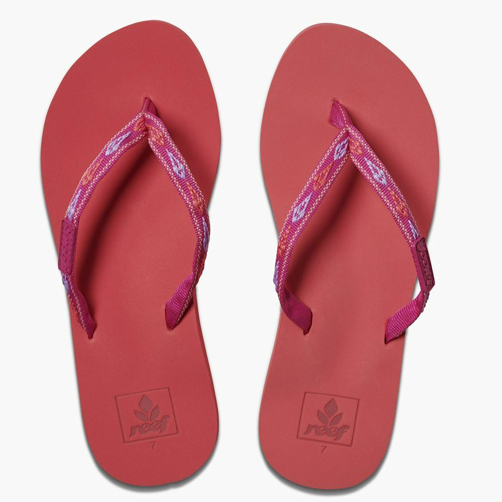 Reef Womens Sandals  Ginger tropical sunset