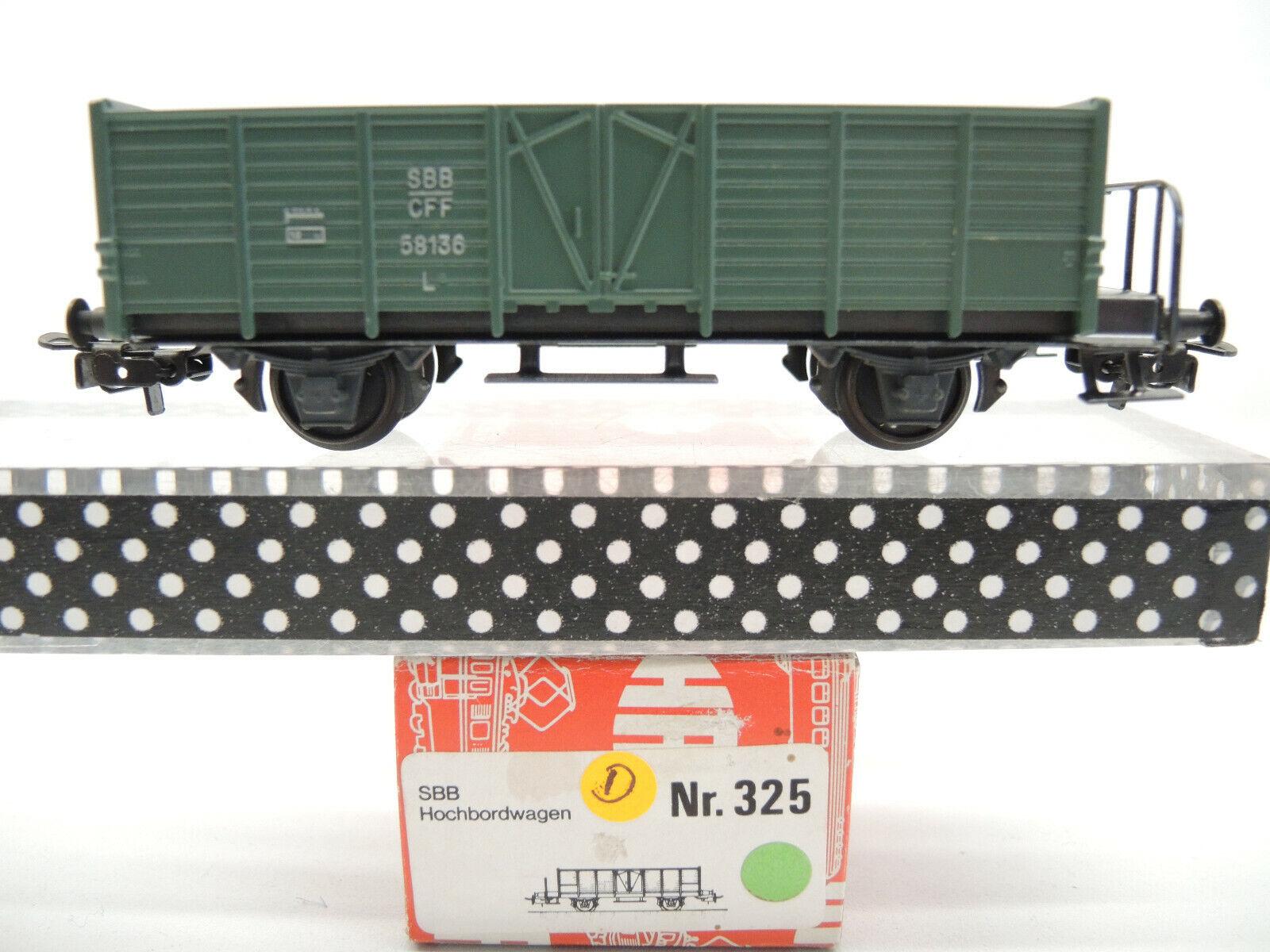 Hag 325 elevado a bordo del Cochero, SBB verde, Top, embalaje original (D)