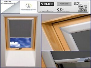 Dachfensterrollo für Velux VL,VU,-PU,VG,VX,VK,VF,VT Dachrollo Bj. 1972-1991