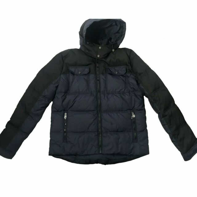 5183e4917fb TOMMY HILFIGER Men's Quilted Puffer Winter Jacket with Hood size: XL