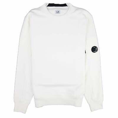 CP Company Chest Logo Sweatshirt White