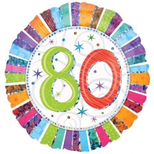 """Fiesta//Celebración//Decoración Radiante Cumpleaños GLOBOS DE PAPEL DE ALUMINIO 18/"""""""