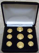 Cadillac Auto Dealer Car Sales Service Jacket Blazer Coat Button Award GM Gold $