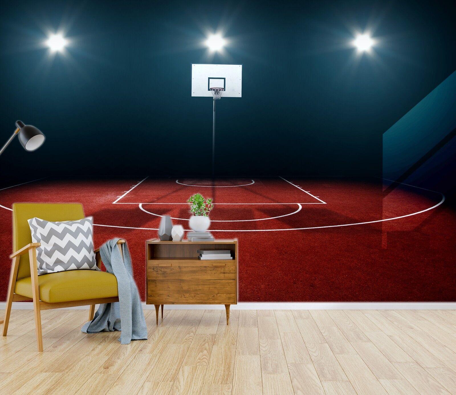 3D Basketball Site 26 WallPaper Murals Wall Decal WallPaper AU Carly