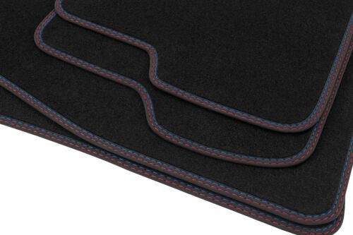 2011 Premium Doppelziernaht Fußmatten für BMW 1er F20// F21 Bj