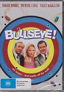 BULLSEYE-MICHAEL-CAINE-ROGER-MOORE-SALLY-KIRKLAND-DVD-NEW