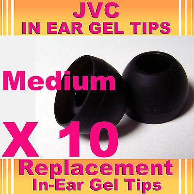 10 Jvc Cuffie In Ear Buds Cuffie Auricolari Gel Suggerimenti Media-mostra Il Titolo Originale Vivace E Grande Nello Stile