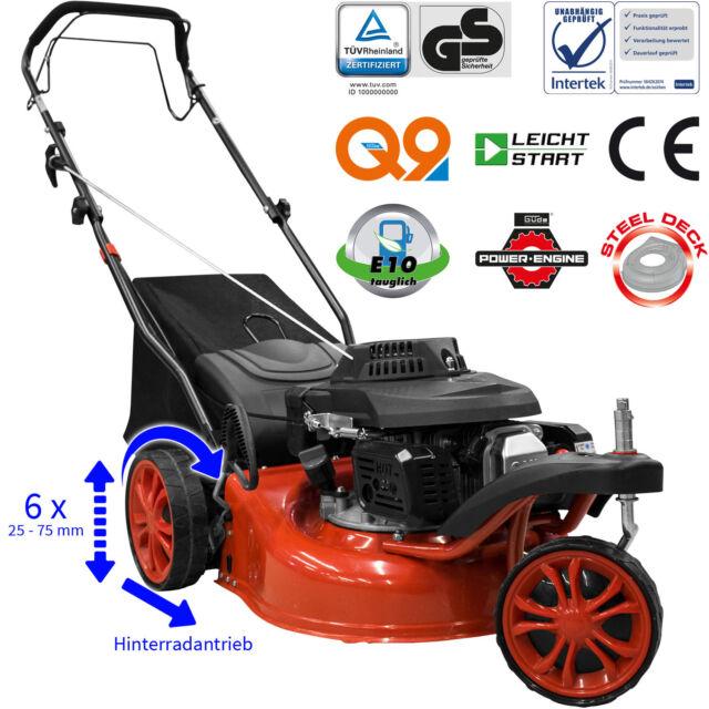 Güde Benzin Rasenmäher ECO WHEELER TRIKE 410 Selbstfahrer Radantrieb Benzinmäher