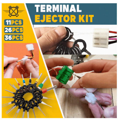70x Release Pin Ejector Extractor Terminal Kit Connector Puller Automotive Auto