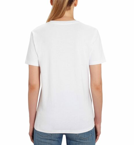 Mary Poppins Floral Ladies White T-shirt