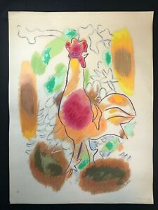 Serigraph by Mariano Rodríguez. No title. 1984. Original signed by the artist