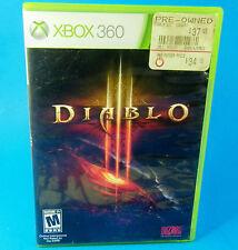 Diablo III (Microsoft Xbox 360, 2013) BLIZZARD MATURE