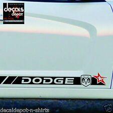 Fits DODGE Charger RAM Avenger Challenger SXT RT SRT ROCKER PANEL 2005 to 2017