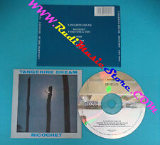 CD TANGERINE DREAM Ricochet parts one & two france VIRGIN (Xs2) no lp mc dvd