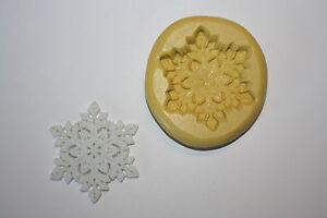 Snowflake Silicone Mold Winter Christmas Snow Resin Chocolate Fondant