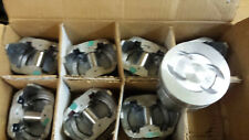 289 302 Ford Cast Pistons Dish With 4 Releifs Set Of 8 030 Over