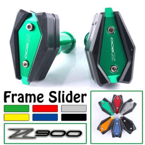 Motorcycle Frame Slider Crash Pad Cover Protector Guard For Kawasaki Z900 17-18