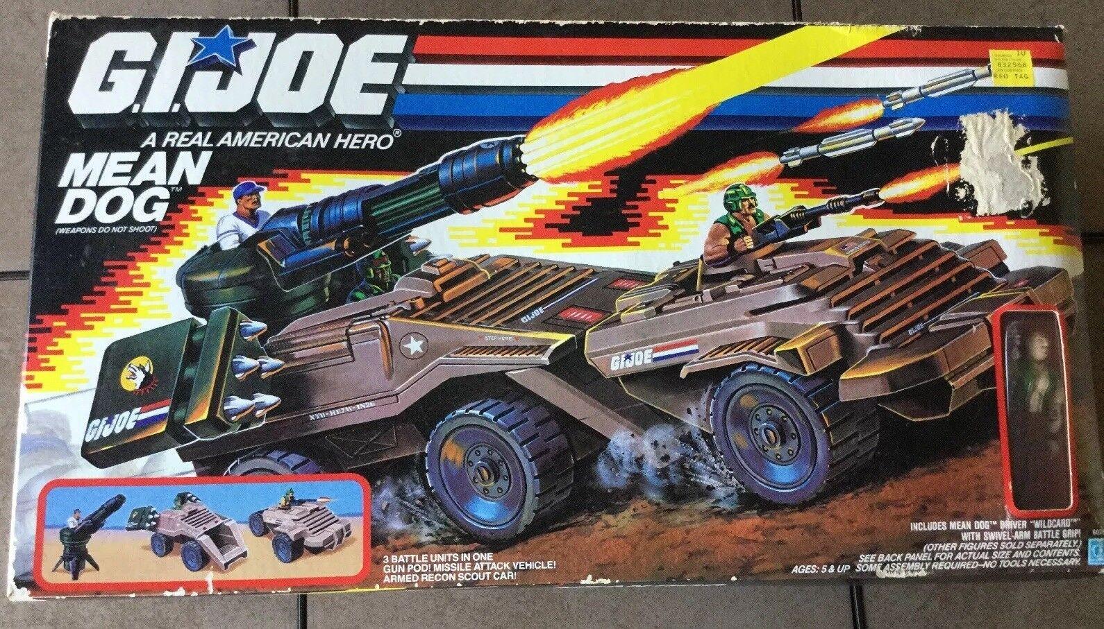 Gi Joe Mean Dog 1987