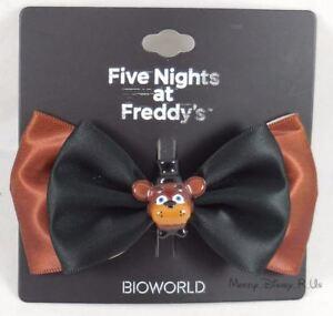 Five-Nights-At-Freddy-039-s-Freddy-Fazbear-039-s-3D-Costume-Cosplay-Hair-Bow-W-3D-Charm