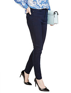 New-Womens-Marks-amp-Spencer-Blue-High-Waisted-Skinny-Jeans-Size-18-16-14-12-10-8