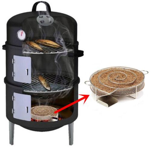 Cold Smoke Generator BBQ Grill Dust Smoker Wood Meat Burn Smoking Cooking Tools
