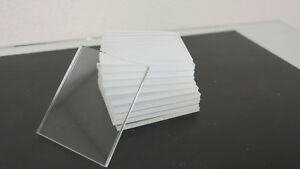 "Black Acrylic Plexiglass sheet 1//16/"" x 3/"" x 3/"" 4-pack"