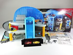 Florida-Speedway-Mega-Garage-playset-CARS-3-Disney-Pixar-99-Complete-Mattel-toy