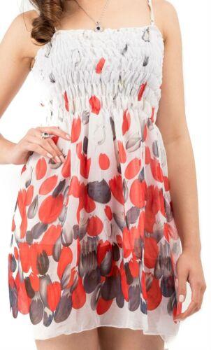 Flower Girls Dress Children Kids Summer Chiffon Sundress Tops