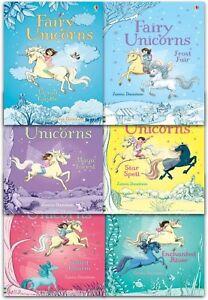 Usborne-Fairy-Unicorns-Collection-6-Books-Set-Zanna-Davidson-Magic-Forest-Charm