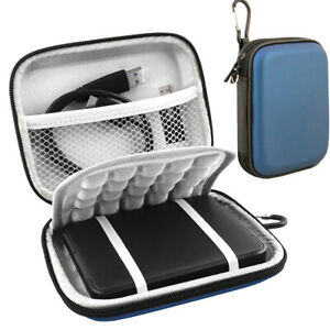 Lacdo Hard Drive Carrying Case for WD My Passport Ultra, WD Elements HDD Bag