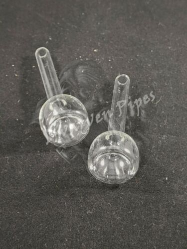 """2 Pack Glass Downstem Replacement for 5/"""" Water Pipes"""