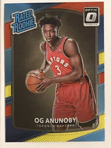 2017-18-Donruss-Optic-Rated-Rookie-Red-Yellow-178-OG-Anunoby-RC-Raptors-MINT