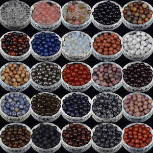 Wholesale-Natural-Gemstone-Round-Spacer-Loose-Beads-4MM-6MM-8MM-10MM-Stones