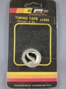 """SBC Gasket 1592 : Timing Tape Mr 6/"""" Diameter Balancer"""