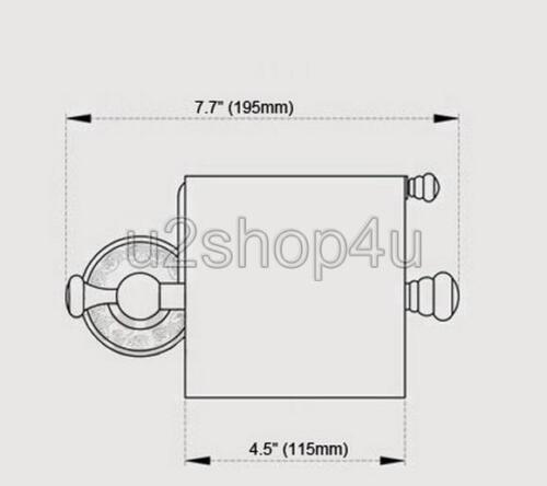 Antique Brass Toilet Tissue Paper Holder Bathroom Paper Roll Holder Uba487