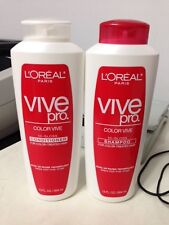 L'Oreal Color Vive Hi-Gloss Conditioner and shampoo for Color Treated Hair.
