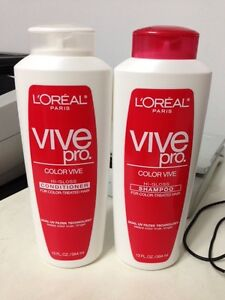 L Oreal Color Vive Hi Gloss Conditioner And Shampoo For