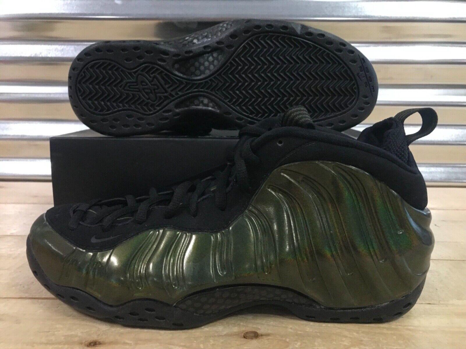 Nike Air Foamposite One Basketball shoes Legion Green Black SZ ( 314996-301 )