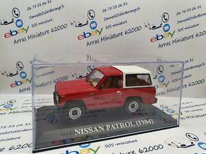 Nissan-Patrol-1-43-eme-1984-avec-boite-plexi-neuf