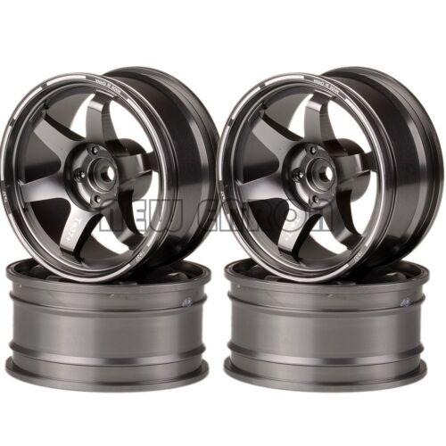 4PCS Offset Wheel Rim Aluminum 9MM  For RC 1//10 On-Road Drift Traxxas HPI HSP