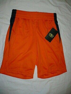 Athletic Works Boys Active Mesh Shorts Small (6-7) Orange W Black W Pockets  812954045453   eBay