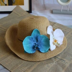12cm artificial silk orchid flowers petals fake flowers crafts diy image is loading 12cm artificial silk orchid flowers petals fake flowers mightylinksfo