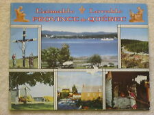 1940s LOVABLE PROVINCE DE QUEBEC BOOKLET