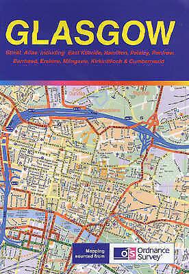 Glasgow Street Atlas, , Very Good Book
