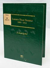 Littleton Coin Folder LCF23 Liberty Head Nickel 1883-1912