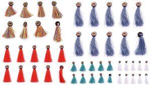 Bois-Rond-Boutons-Couture-Scrapbooking-Artisanat-Indien-Boheme-Vetements-Decor