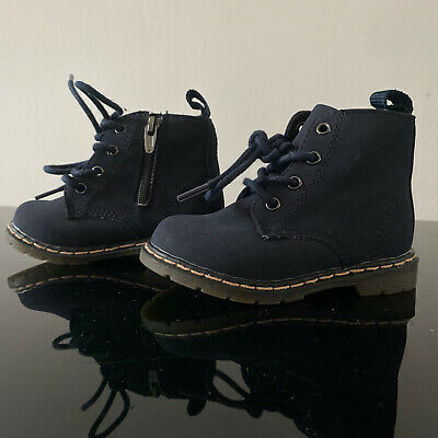 Zara Baby Boy Blue Boots Size 4 Wiem Once Shoes Infant ...