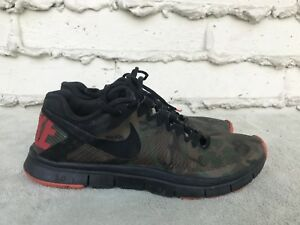 newest 16338 3976e Image is loading RARE-Nike-Free-Trainer-3-0-Camo-Running-