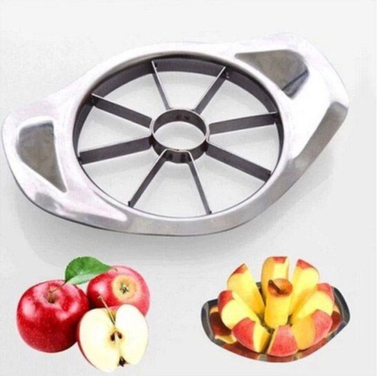 New Kitchen Tool Apple Fruit Easy Slicer Peeler Cutter Stainless Steel Metal