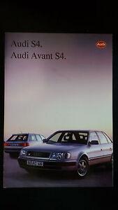 Depliant-Brochure-Audi-S4-AUDI-AVANT-S4-1992-pagine-31-scheda-tecnica